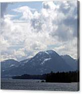 Alaska Inside Passage Canvas Print