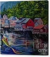 Alaska. Ketchikan Canvas Print