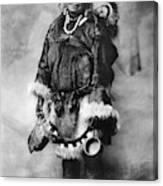 Alaska Mother And Child Canvas Print