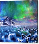 Alaska Northern Lights  Canvas Print