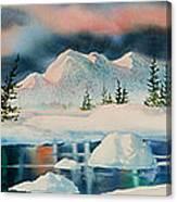 Alaska Panorama Canvas Print