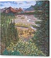 Alaska Range   Early Fall Canvas Print