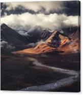 Alaska Range Canvas Print