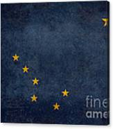 Alaska State Flag Canvas Print