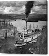 Alaska Steamboat, 1920 Canvas Print