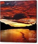 Alaska Sunset Canvas Print