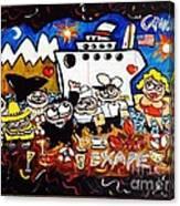Alaska X Beach  Canvas Print