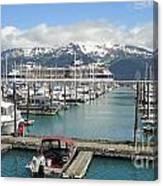 Alaskan Marina Canvas Print