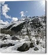 Alaskan Mountain Canvas Print