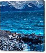 Alaskan Ocean Canvas Print