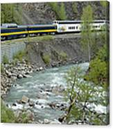 Alaskan Railroad Canvas Print