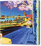 Alaskan Way Viaduct Canvas Print