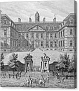 Albemarle House, Formerly Clarendon Canvas Print