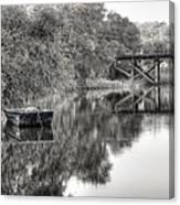 Albergottie Creek Trestle Canvas Print