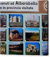 Alberobello Italy Canvas Print