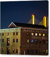 Albers Bros. Cereal Millers Canvas Print
