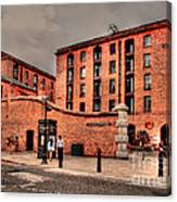 Albert Dock A Different View Canvas Print