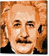 Albert Einstein 01 Canvas Print