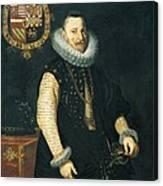 Albert Vii, Cardinal Archduke Canvas Print