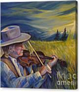 Alberta Lullaby Canvas Print