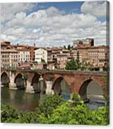 Albi France Pont Vieux Canvas Print