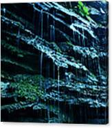 Albion Waterfalls 3 Canvas Print