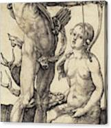 Albrecht Dürer German, 1471 - 1528, Apollo And Diana Canvas Print
