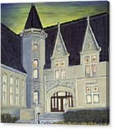 Albright Memorial Library  Canvas Print