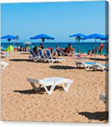 Albufeira Beach Canvas Print