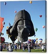 Albuquerque International Balloon Fiesta With Darth Canvas Print