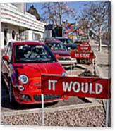 Albuquerque's Route 66 Diner Canvas Print