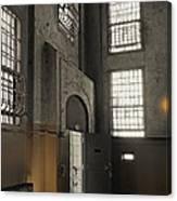 Alcatraz Doorway To Freedom Canvas Print