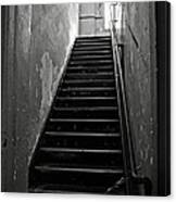 Alcatraz Hospital Stairs Canvas Print
