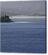 Alcatraz Island And Richardson Bay Canvas Print