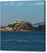 Alcatraz Island In San Francisco Bay Canvas Print