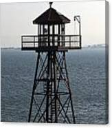 Alcatraz Watchtower Canvas Print