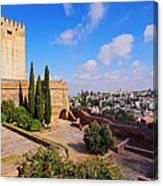 Alcazaba In Granada Canvas Print