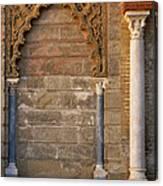 Alcazar Columns In Spain Canvas Print