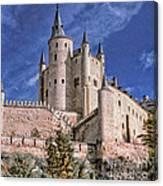 Alcazar Of Segovia Canvas Print