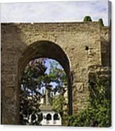 Alcazar - Sevilla - Spain Canvas Print