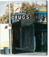 Alderman Drugs Canvas Print