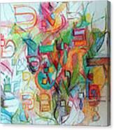 Alef Bais 12 Canvas Print