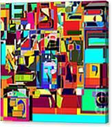 Alef Bais 1a Canvas Print