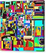 Alef Bais 1c Canvas Print