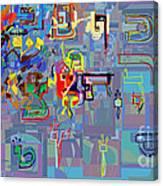 Alef Bais 1i Canvas Print