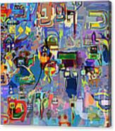 Alef Bais 1y Canvas Print