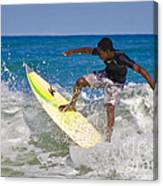 Alex 16 Year Old Pro Surfer Canvas Print