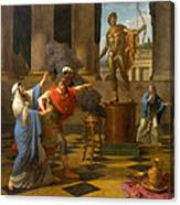 Alexander Consulting The Oracle Of Apollo Canvas Print