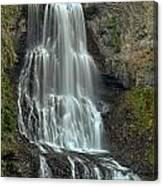 Alexander Falls Recreation Site - Whistler Bc Canvas Print