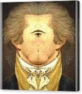 Alexander Hamilton Invert Canvas Print